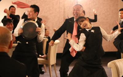 結婚式余興サプライズダンス