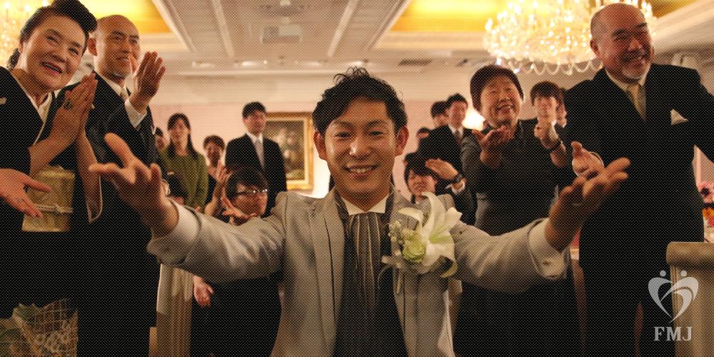 結婚式余興でダンス