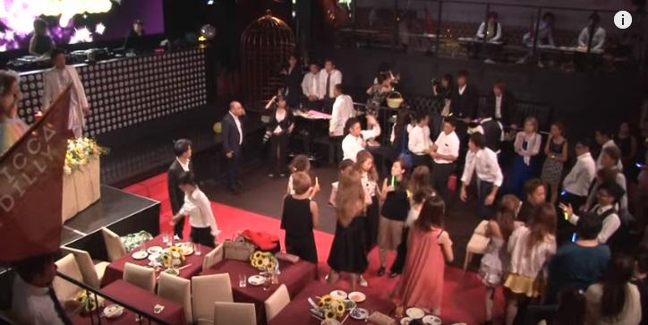 結婚式二次会ダンス