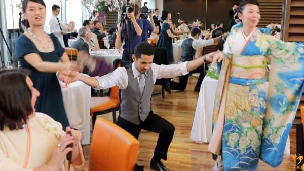 結婚式余興友人