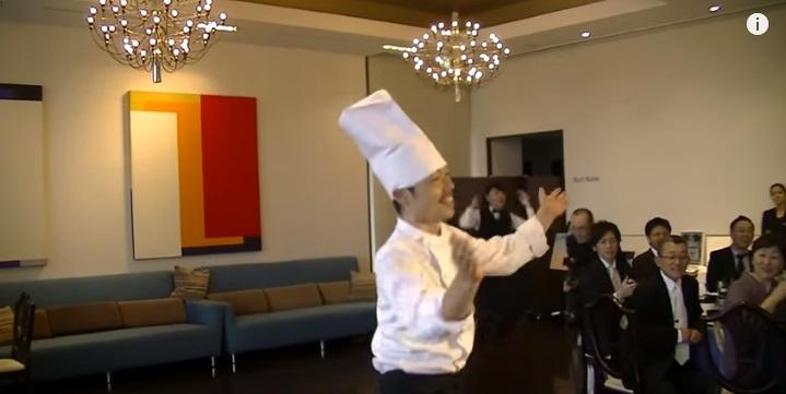 料理長ダンス