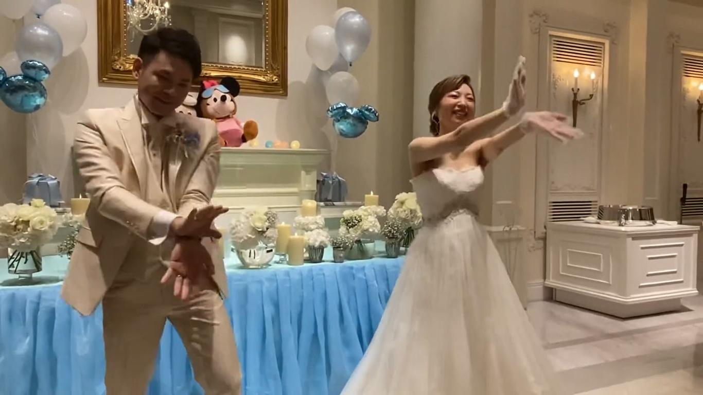 結婚式余興ダンス