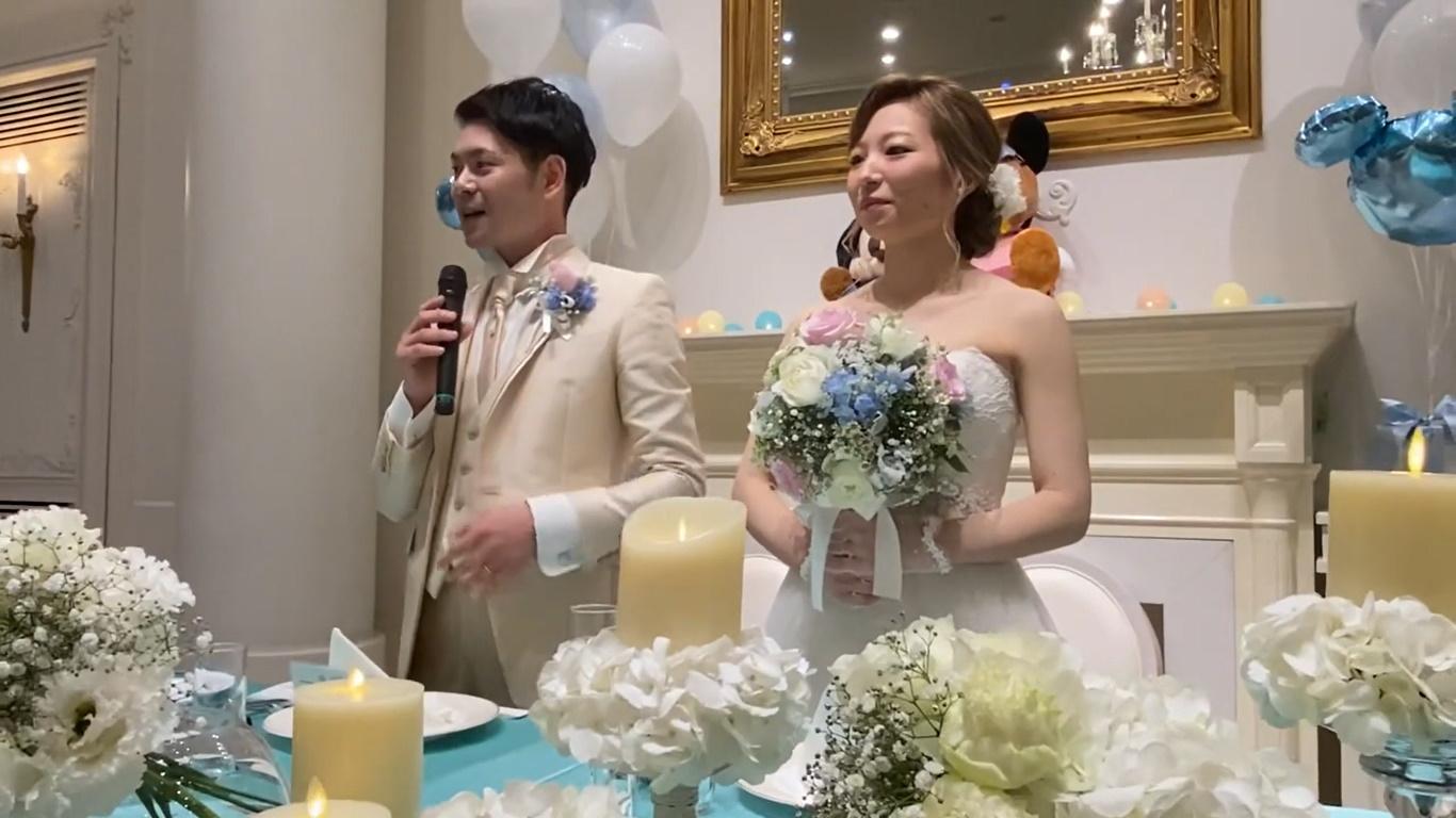 コロナ禍の結婚式披露宴